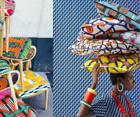 Chaises Wax africain