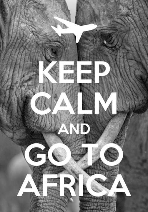 Keep Calm Go to Africa