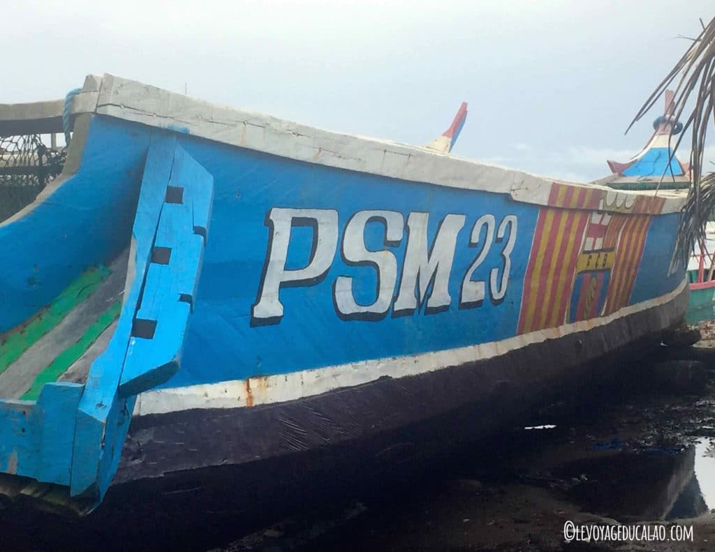 Pirogue PSM 23 Lahou-Plage