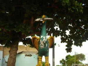 Statue Route Esclaves Ouidah Bénin
