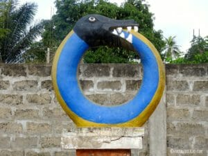 Statue de Route Esclaves Ouidah Bénin