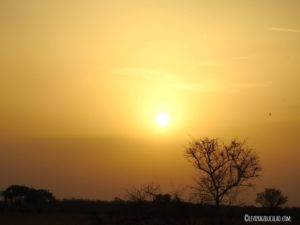 Coucher de soleil Pendjari