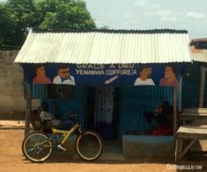 Salon de coiffure béninois