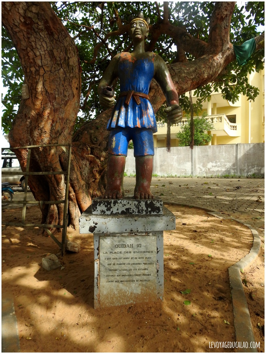 Place des enchères Ouidah Bénin