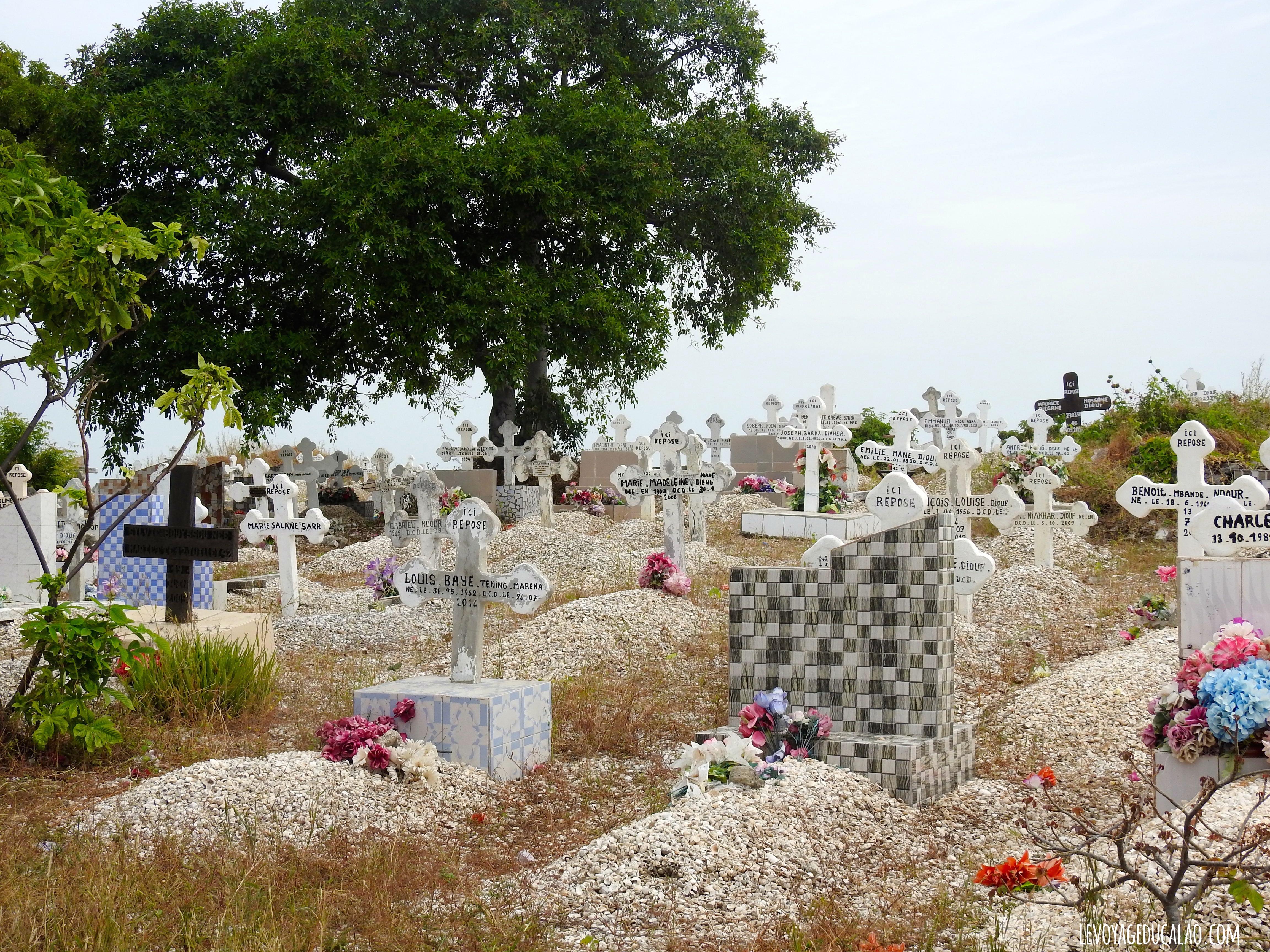 Cimetière Joal Fadiouth Senegal