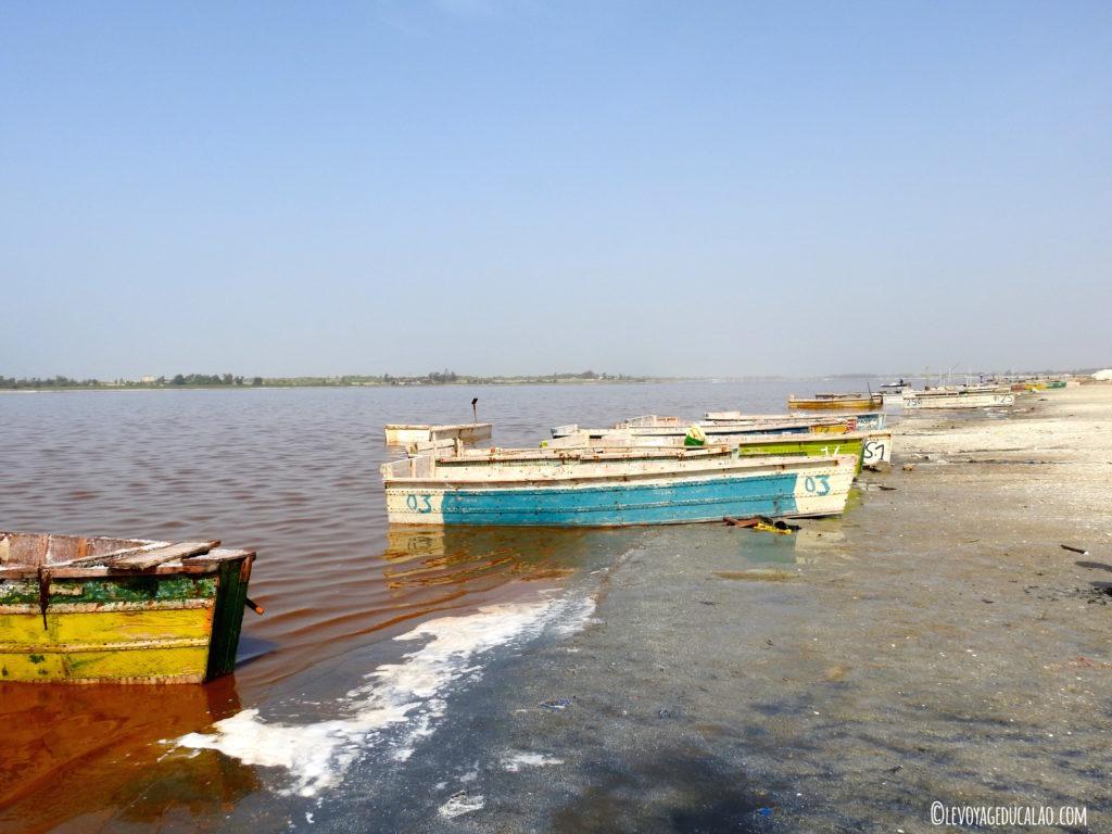 Pirogue du lac rose Sénégal