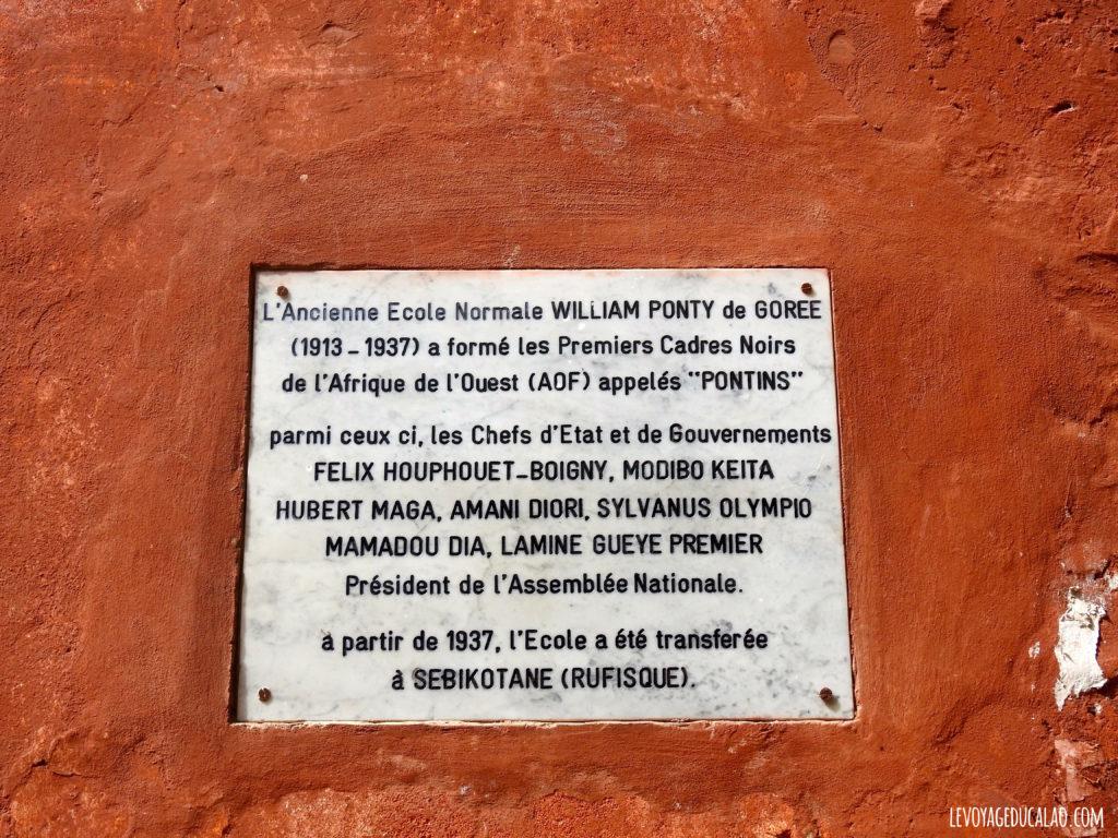 Ecole Normale Gorée