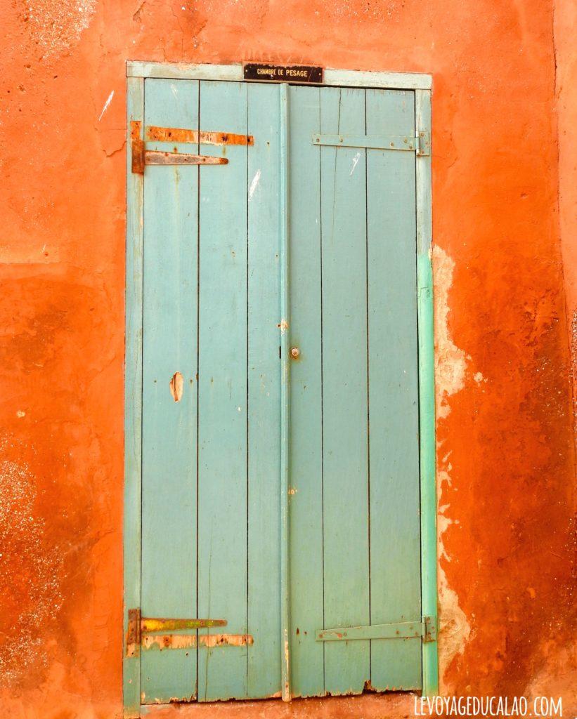 Chambre pesage Gorée