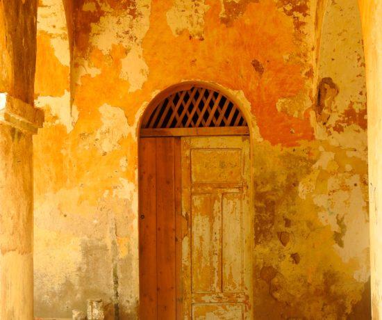 Porte palais Gouverneur Gorée