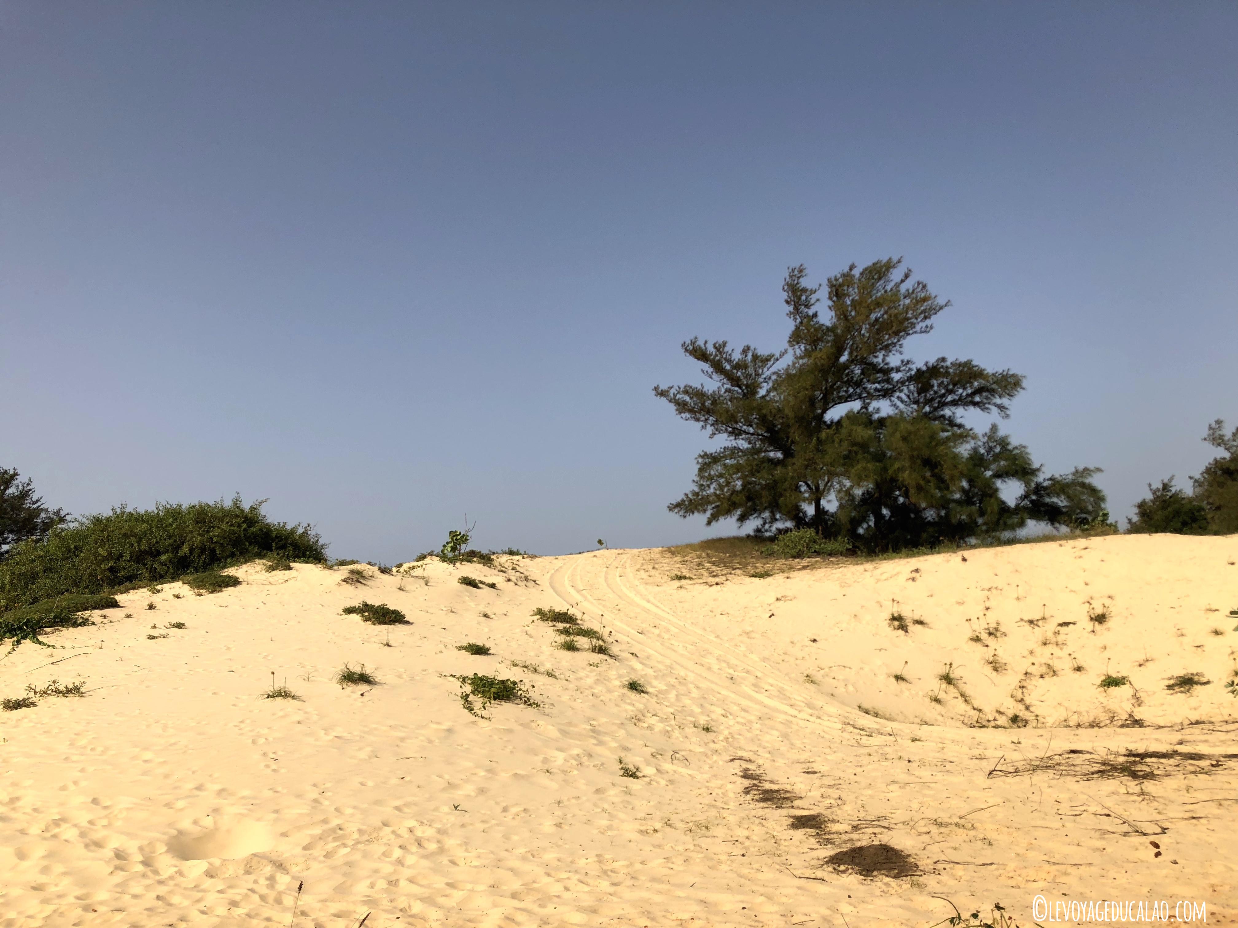 Dunes Lac rose Sénégal