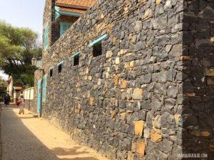Maison basalte Gorée