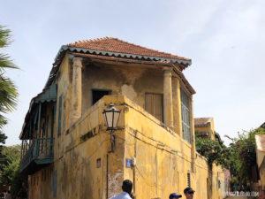 Maison triangle Gorée