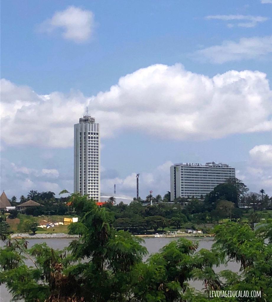 Vue sur hôtel Ivoire Abidjan