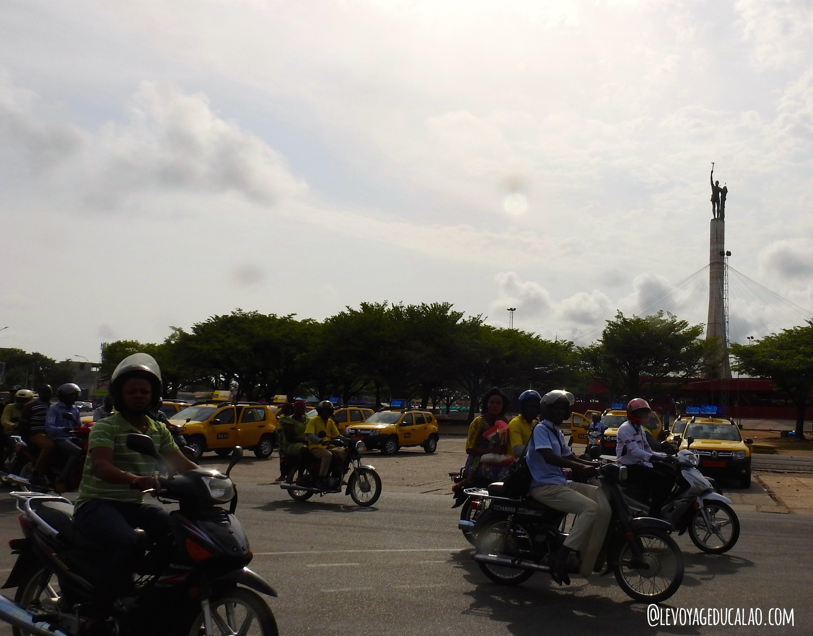 Moto taxi Cotonou Bénin