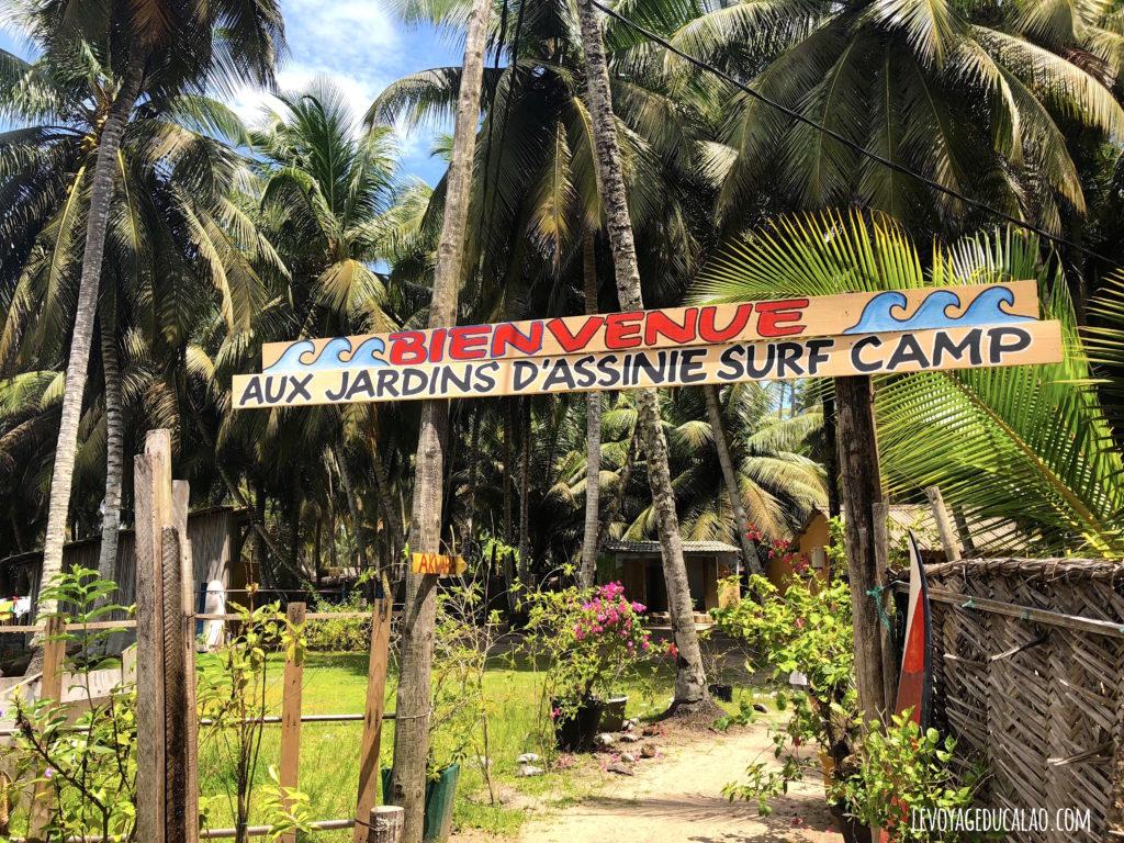 Jardins d'Assinie Surf Camp