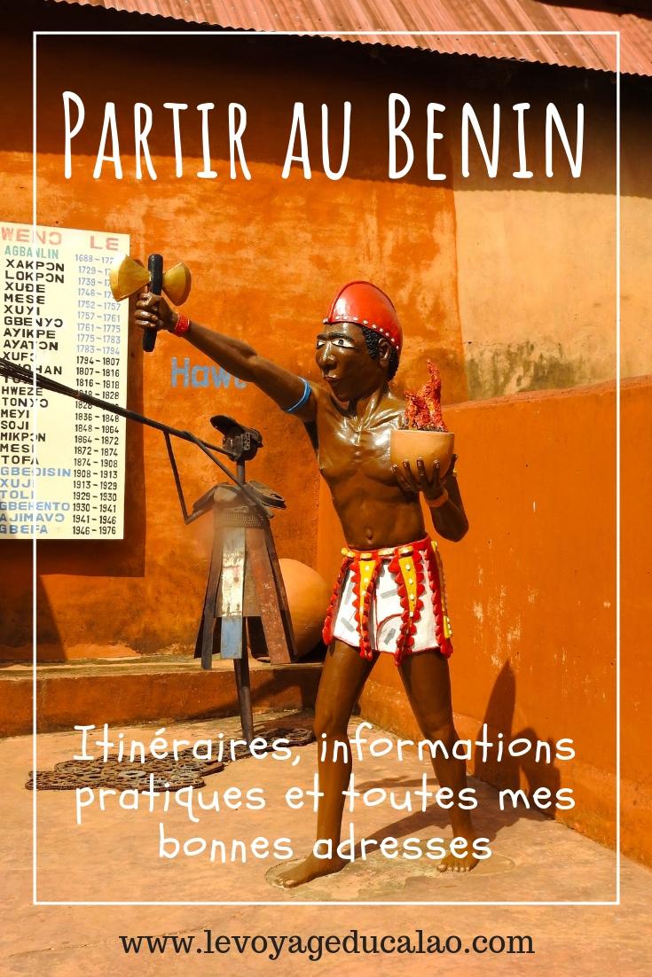 Partir au Bénin Pinterest