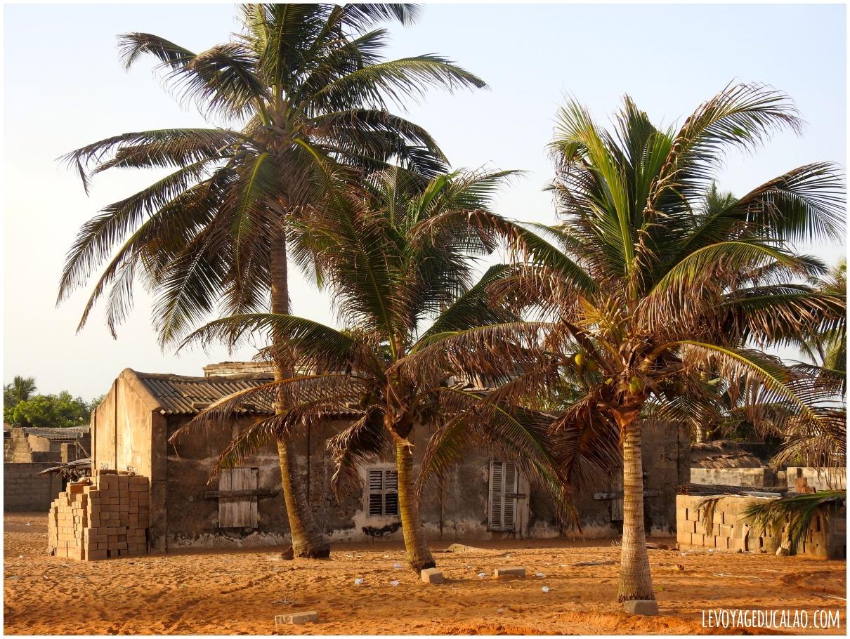 Quartier portugais Grand-Popo Bénin