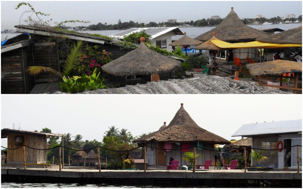 Vue Ile Flottante Abidjan