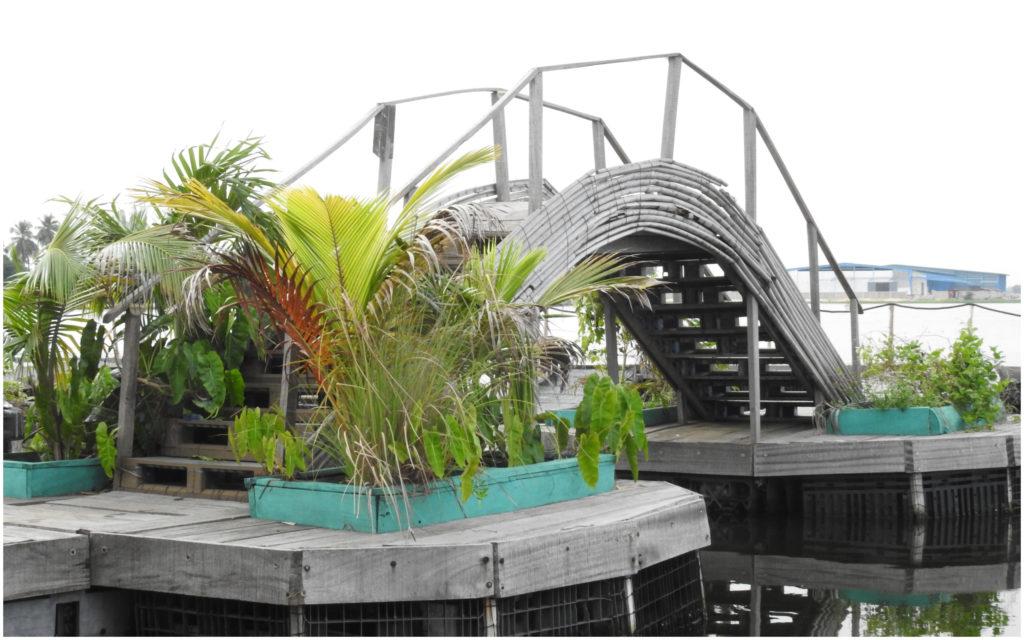 Pont Ile Flottante Abidjan