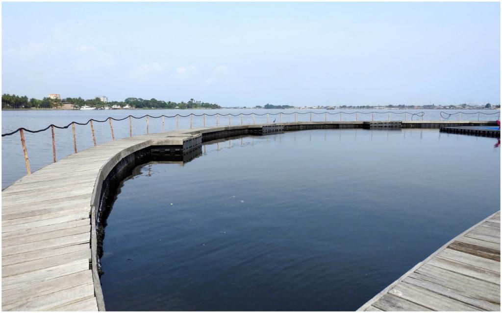 Pont circulaire Ile Flottante Abidjan