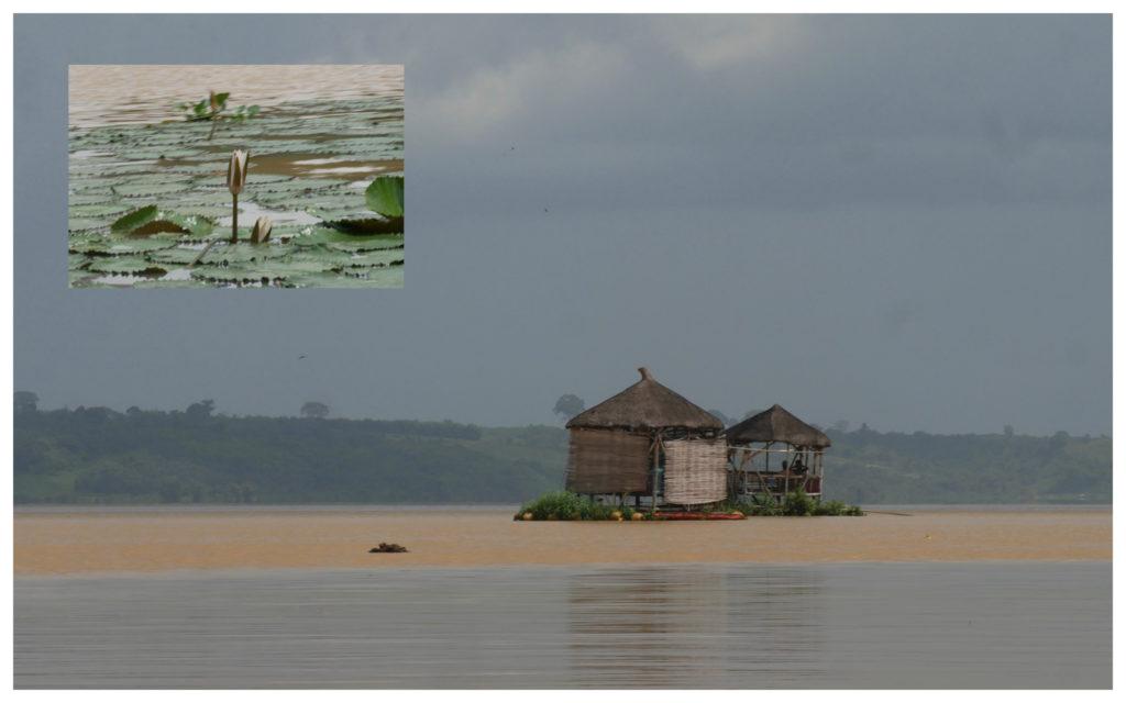 Abidjan Bini Lagune paillottes