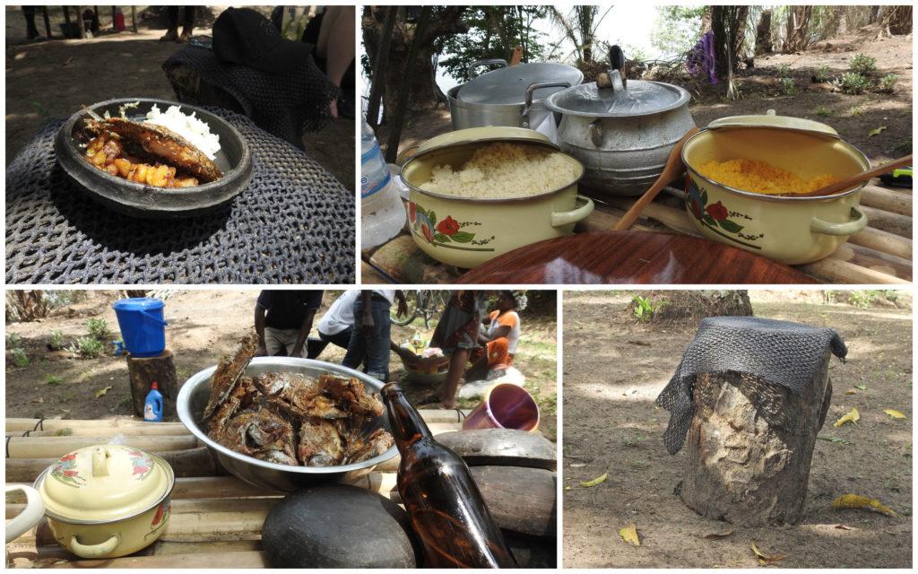Déjeuner Bini Abidjan