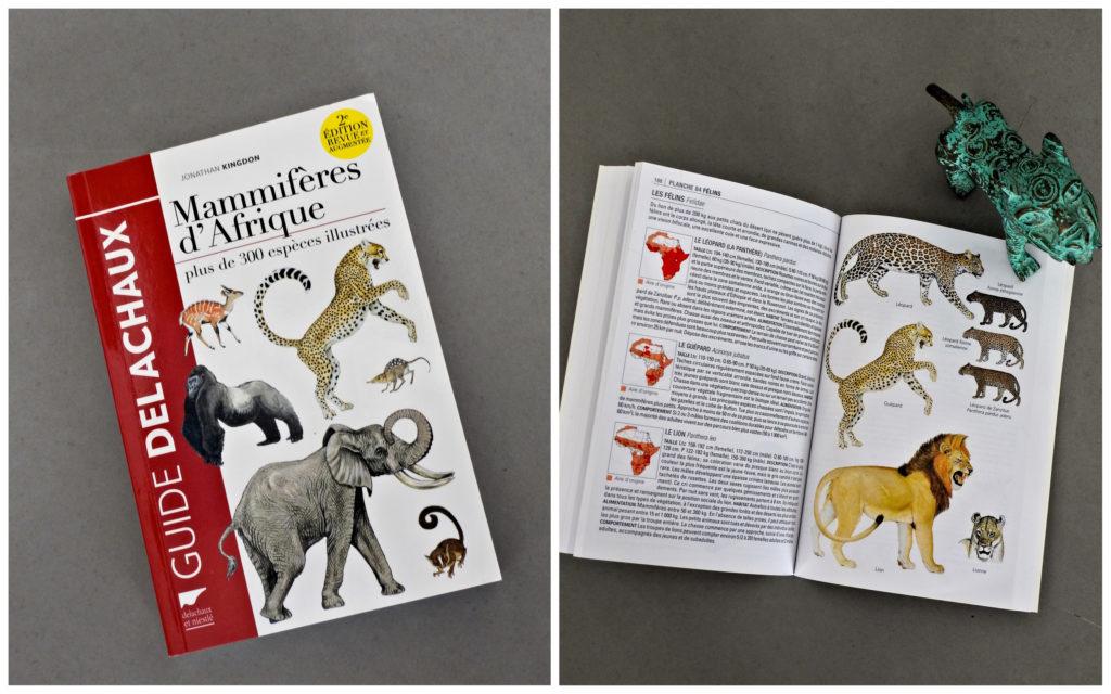 Livre Mammifères Afrique