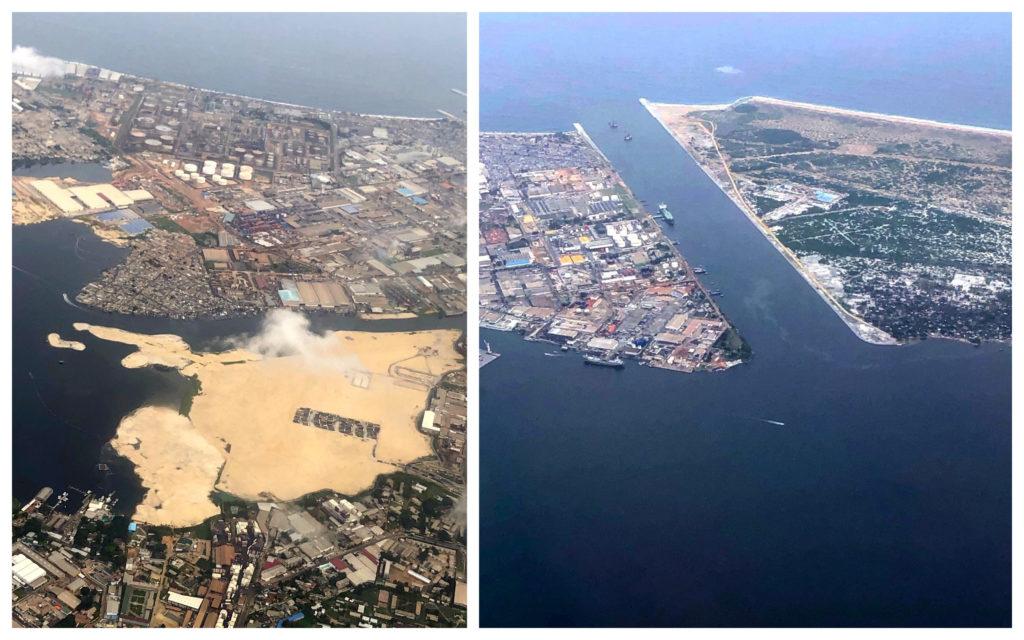 Abidjan vu du ciel