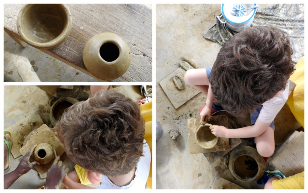 Atelier Potiers Bouaké