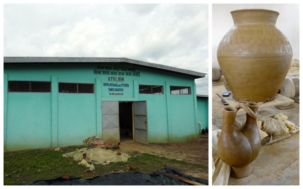 Centre Artisanal Potiers Bouaké