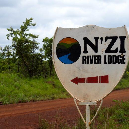 Panneau Réserve Nzi Côte d'Ivoire