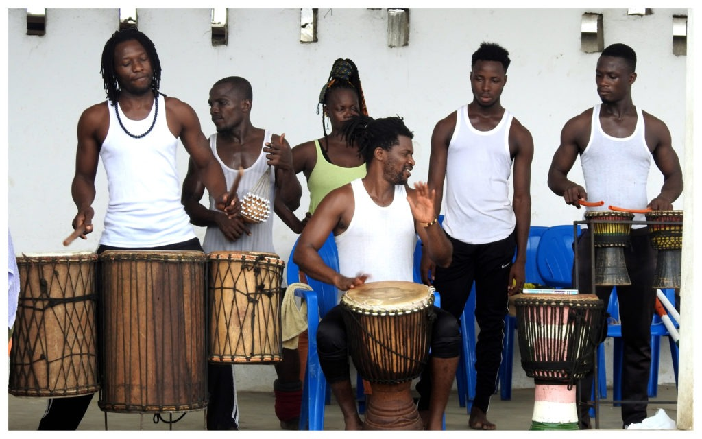 Percussionnistes Mien-Moh