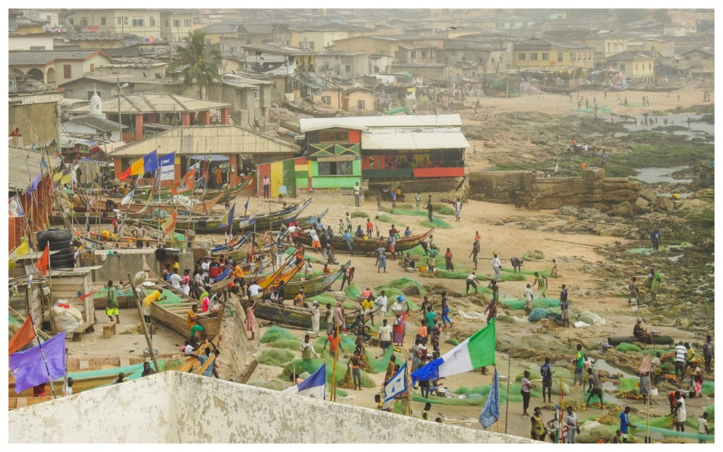 Port Cape Coast Ghana