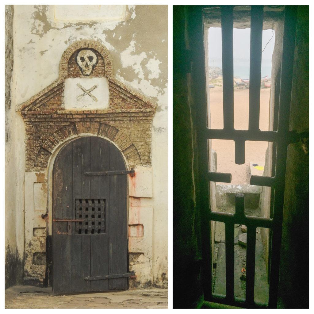 Porte non retour Fort Elmina Ghana