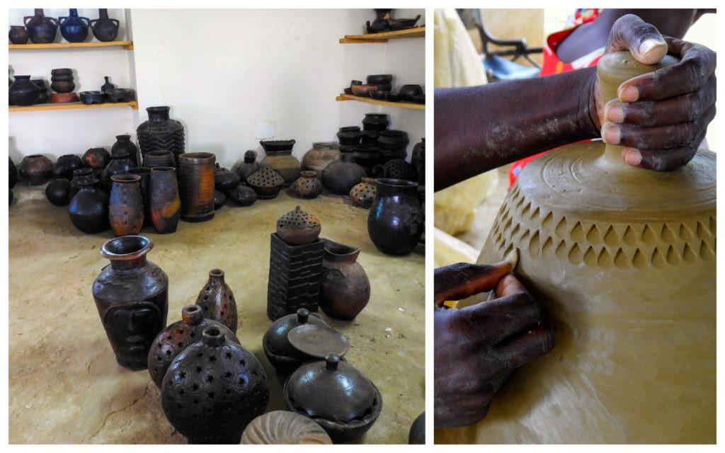 Potiers Abidjan Noël
