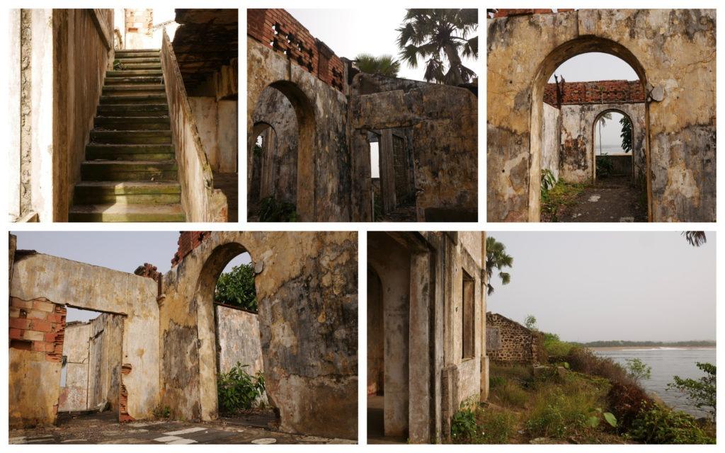 Sassandra Maison Gouverneur ruines