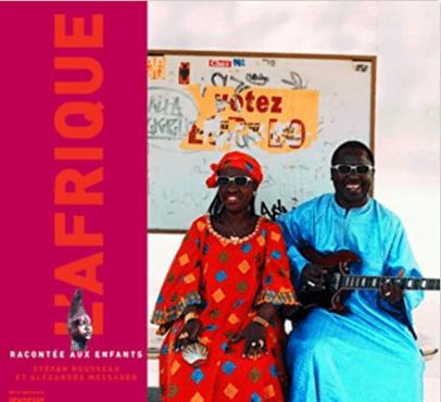 Livre Afrique racontée aux enfants