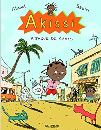 Livre Côte d'Ivoire Akissi