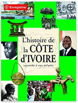 Livre Côte d'Ivoire racontée aux enfants