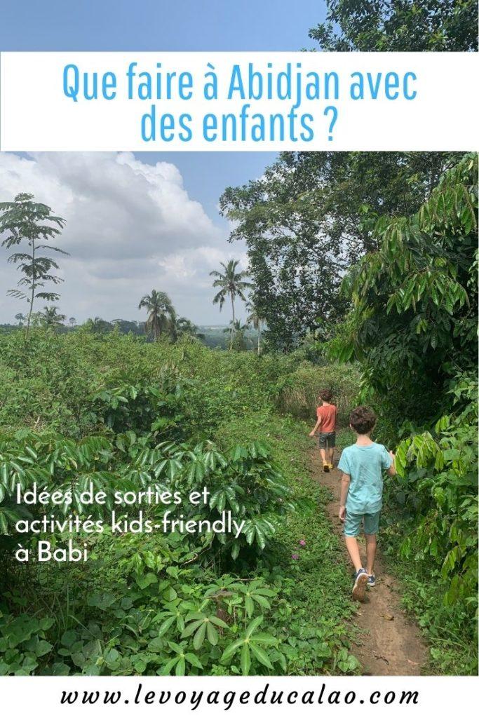 Pinterest Abidjan enfants