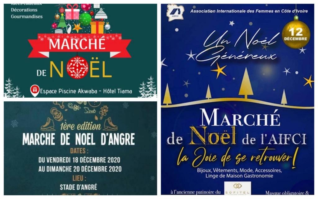 Marchés Noël Abidjan 2