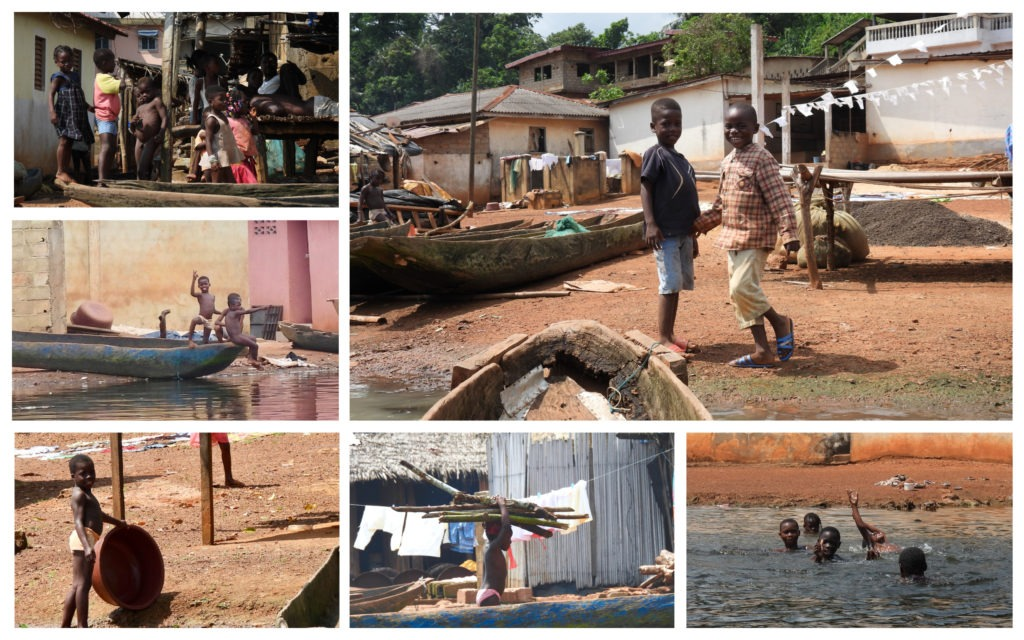 Enfants Tiagba Côte d'Ivoire
