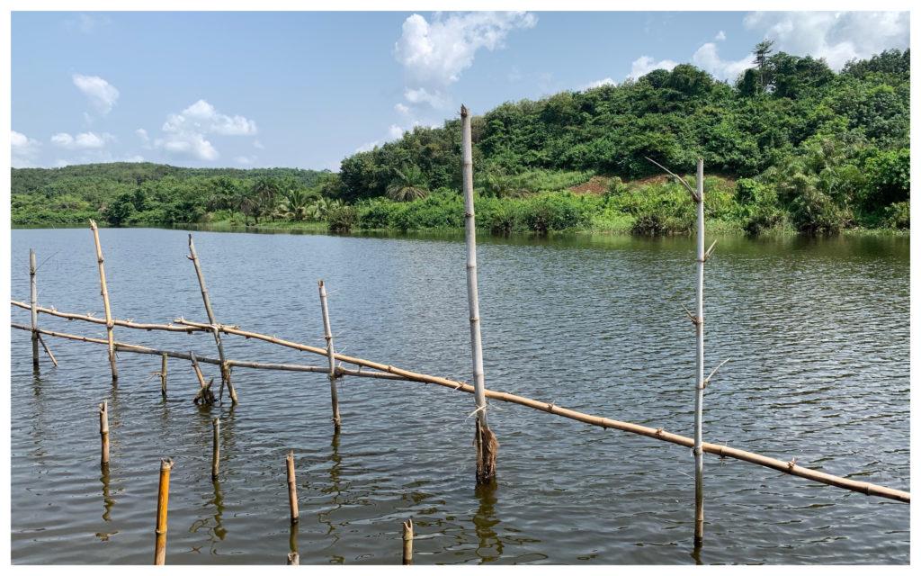 Lagune Tiagba Côte d'Ivoire