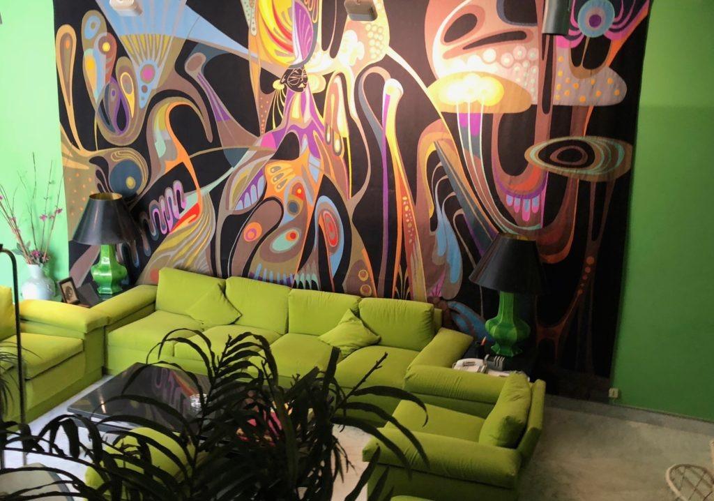 Musée Senghor Dakar Salon Vert